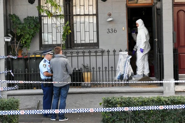 Image: Counter terrorism raids in Sydney