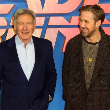 Image: Harrison Ford and Ryan Gosling