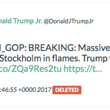 Donald Trump JR ten_gop retweet
