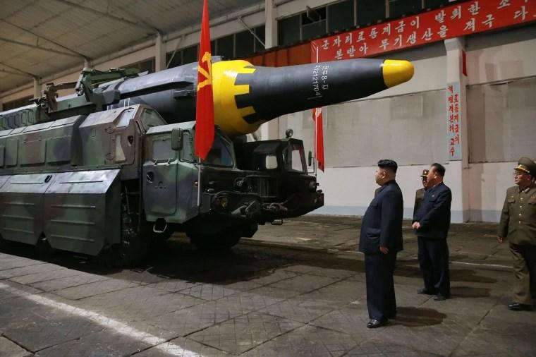 Image: North Korea Missle