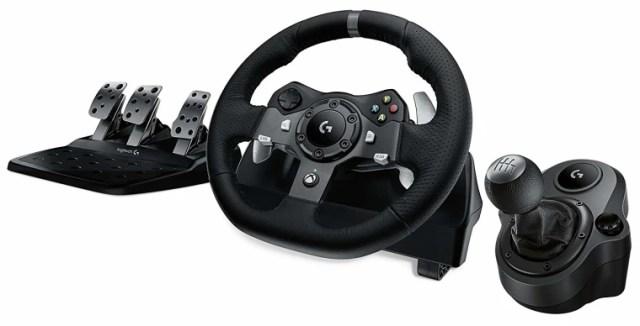 Best gaming gear: best driving wheel, Logitech Driving Force Wheel