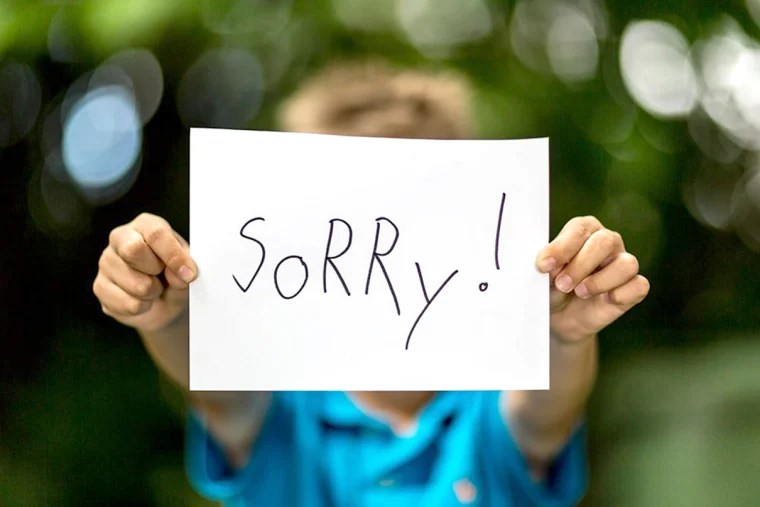 a university of waterloo canada study found that women likely tend to apologize more often because they have a lower threshold than men for what they