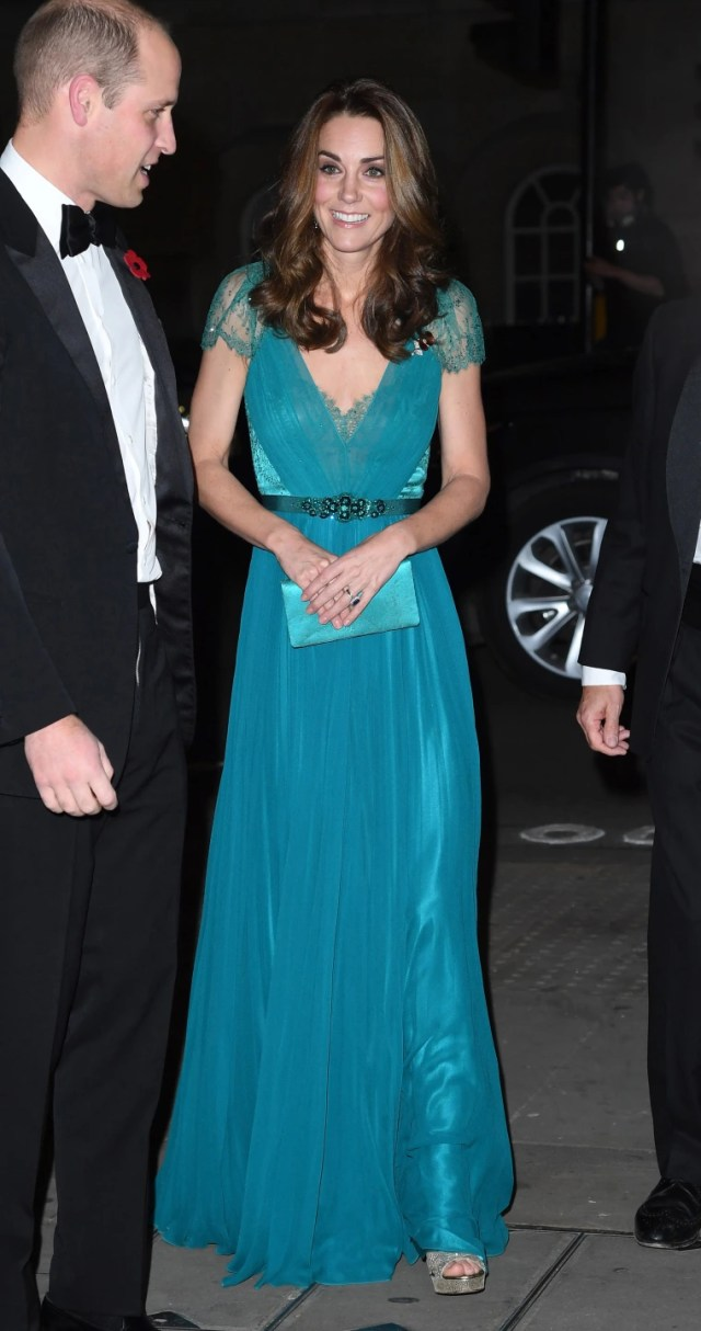 The Duke And Duchess Of Cambridge Support The Tusk Conservation Awards