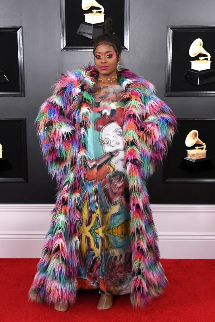 Image: Tierra Whack at the Grammys 2019