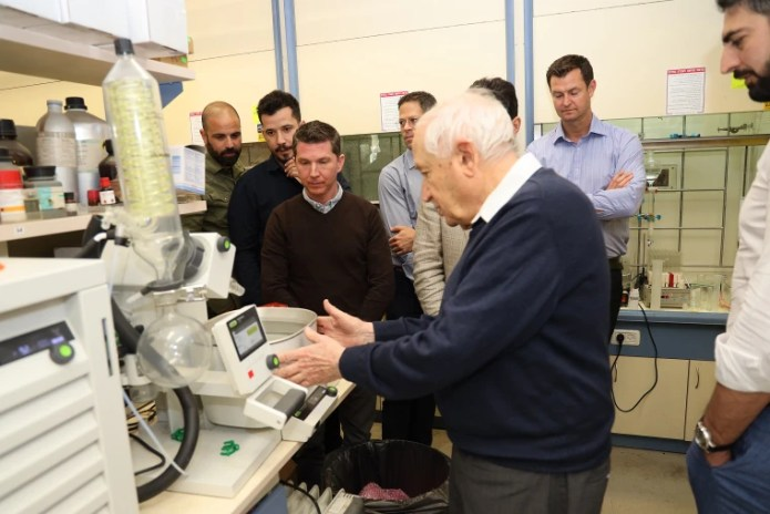 Israeli Professor Raphael Mechoulam, who is known as the