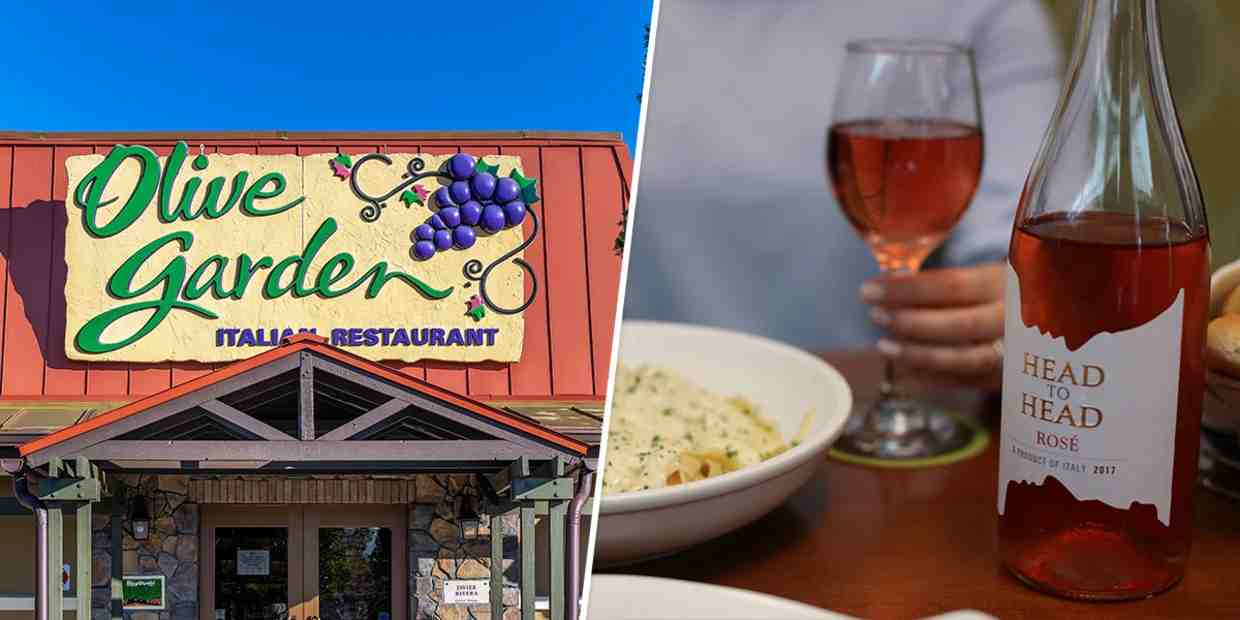 Olive Garden Has Its Own Line Of Wines And Will Now Deliver Right To Your Door