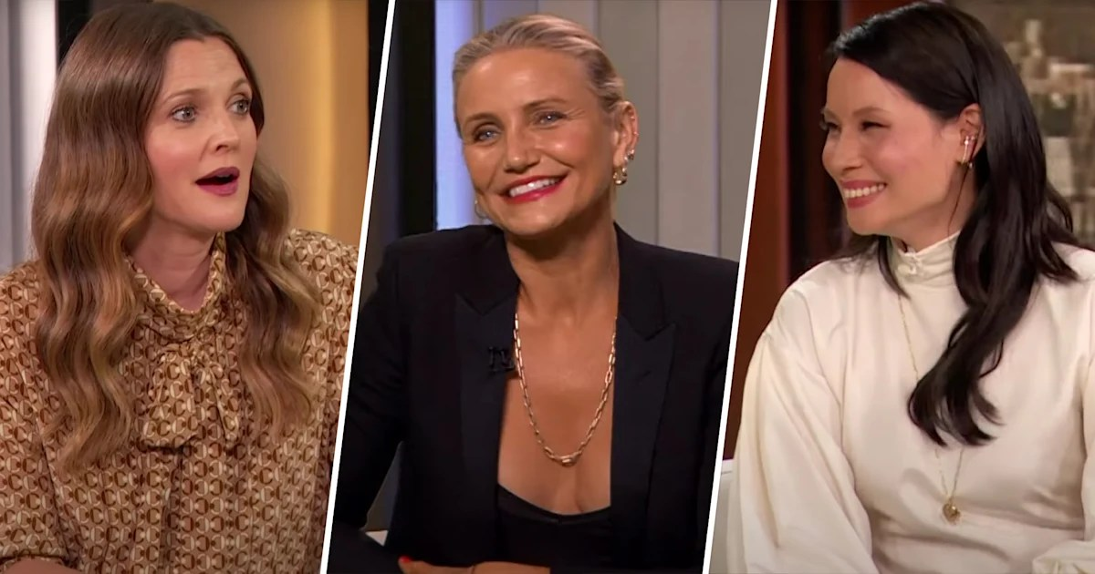 TODAY on Flipboard: Watch 'Charlie's Angels' stars reunite on 'Drew  Barrymore Show' premiere