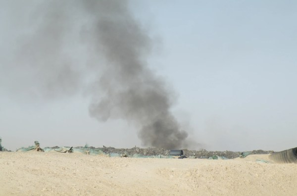 Toxic trash threatens Marines in Afghanistan, government ...