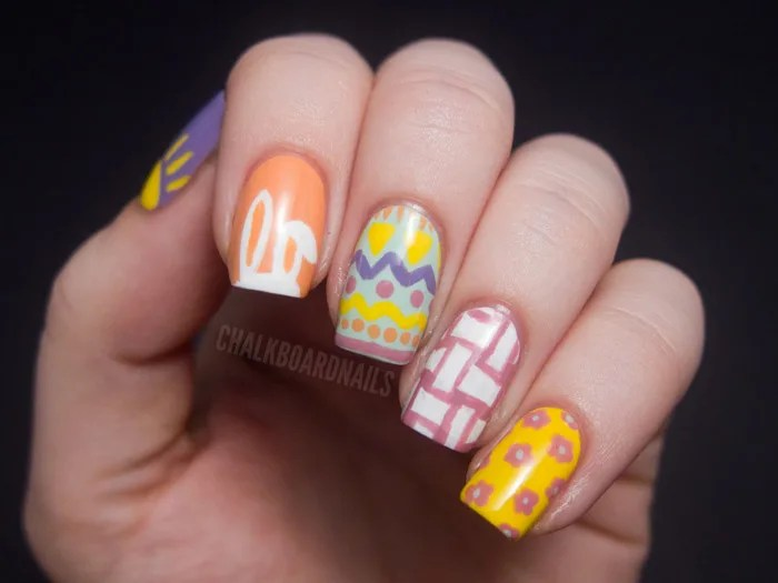 How To Do Bunny Ear Nail Art For Easter Tiphero 4 3 2017 Whip Out Your Spring Polish Colors And Try One Of These We