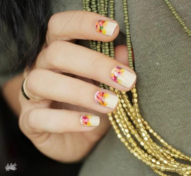 Thanksgiving Nail Art Decal Nails Polish Colour