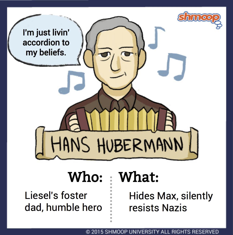 Hans Hubermann In The Book Thief