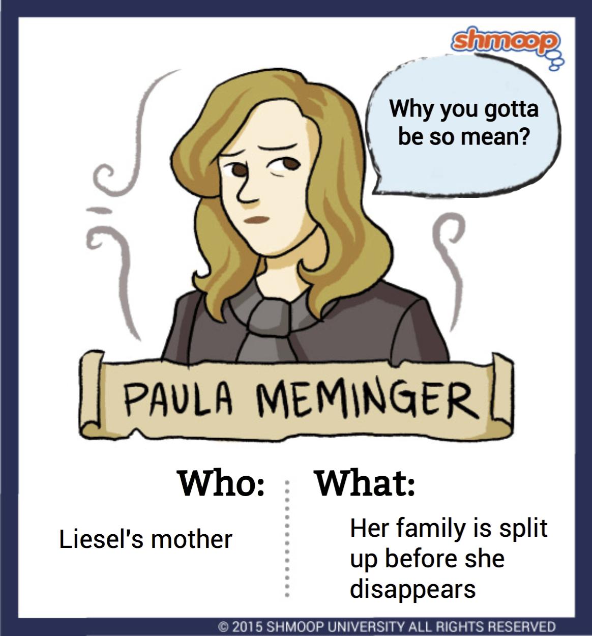 Paula Meminger In The Book Thief