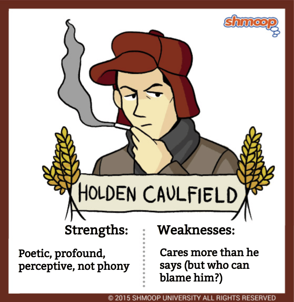Holden Caulfield In The Catcher In The Rye