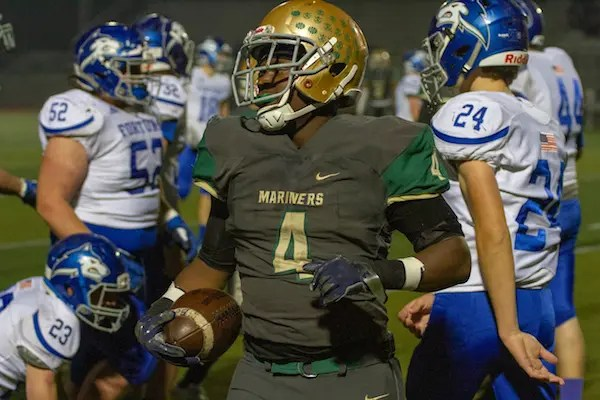 Moreau Catholic Football, Fresh Ison