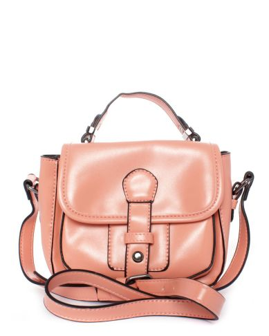 WINTER FASHION FAVOURITES Blackcherry Satchel Bag in Salmon