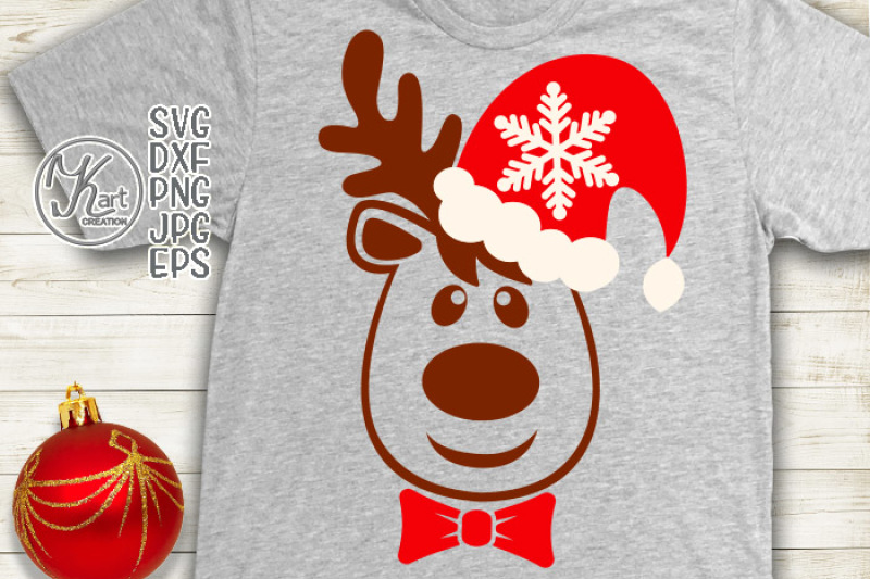 389 Christmas Boy Svg