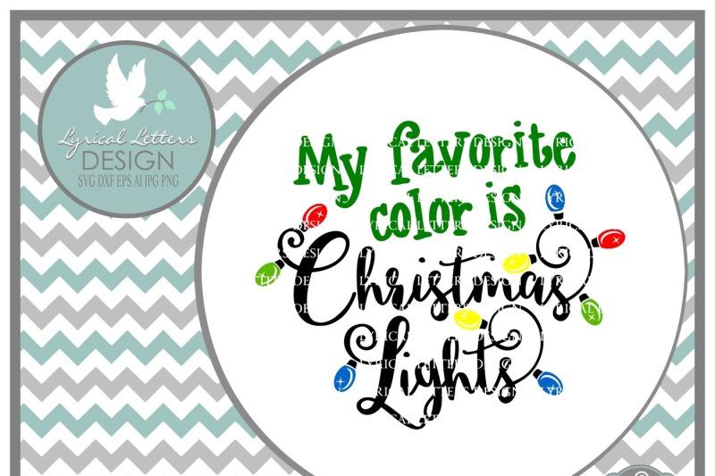 1346 Christmas Lights Svg File Free