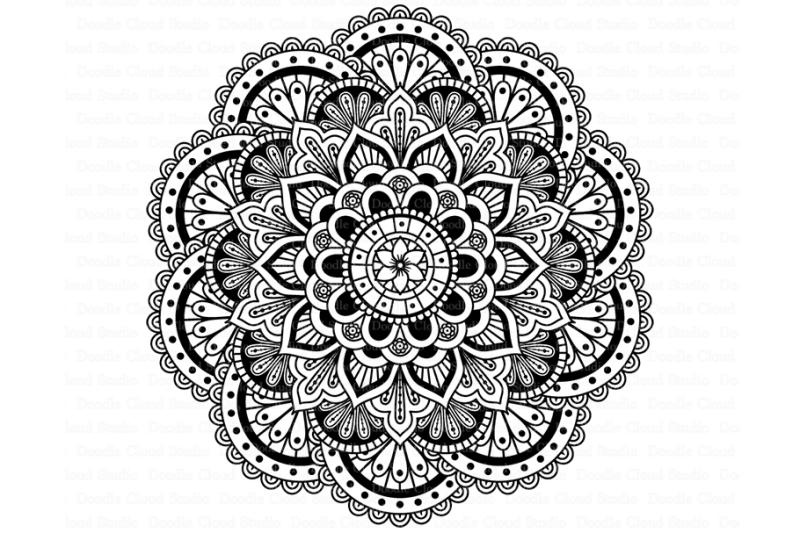 Download Free Mandala SVG DXF, Mandala Drawing, Mandala SVG files ...