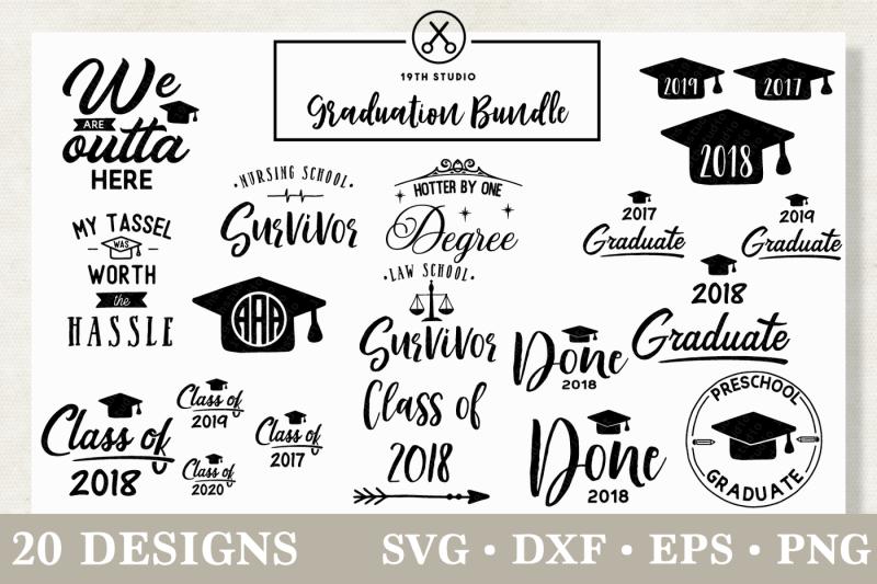 Free Graduation SVG Bundle Crafter File Download Free SVG Amp PNG Files