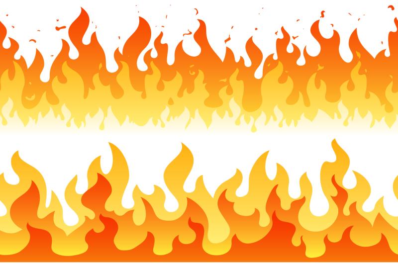 Photo avatar cartoon ff cartoon logo free fire best cartoon wallpaper. Cartoon fire flame vector seamless frame borders By ...