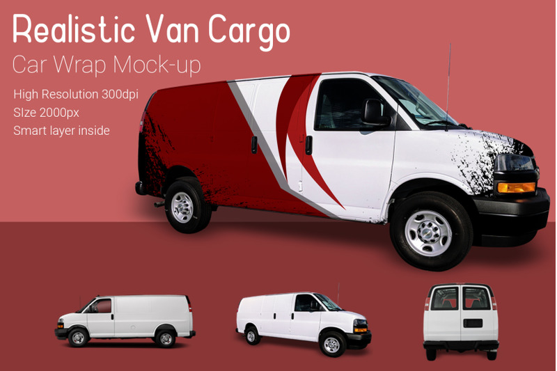 Download Cargo Van Mockup Free Psd Yellowimages