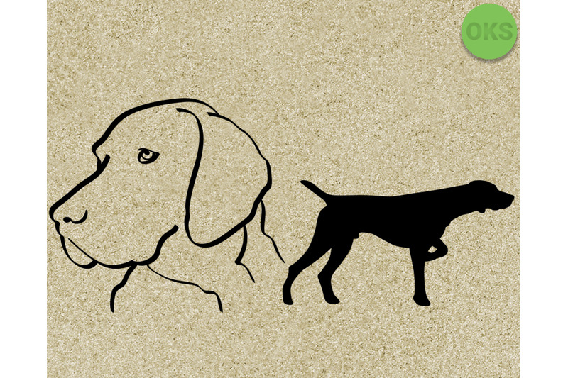 Download pointer svg, dog svg files, vector, clipart, cricut ...