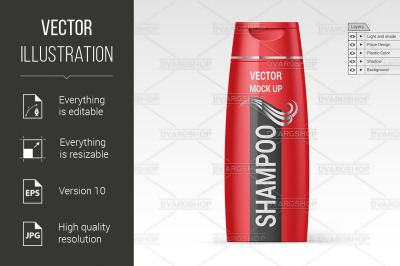 Download Shampoo Bottle Mockup Psd Yellowimages