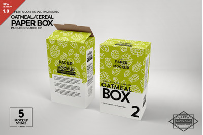 Download Two Matte Boxes With Label Mockup Top View Yellowimages