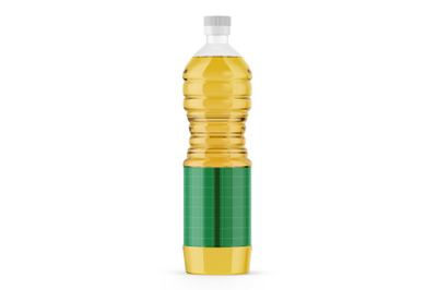 Download Clear Bottle With Fish Oil Mockup Yellowimages