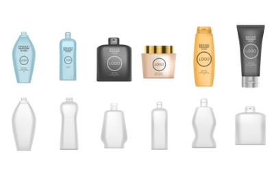 Download White Plastic Pet Bottle Water Mockup Yellow Images