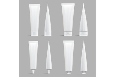 Download Plastic Cosmetic Tube For Creamgel Mockup Yellowimages