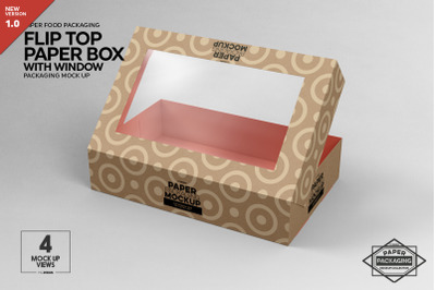 Download Kraft Paper Box Label Mockup Front View High Angle Shot Yellowimages