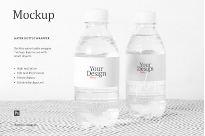 Download 1l Pet Water Bottle Mockup Yellowimages