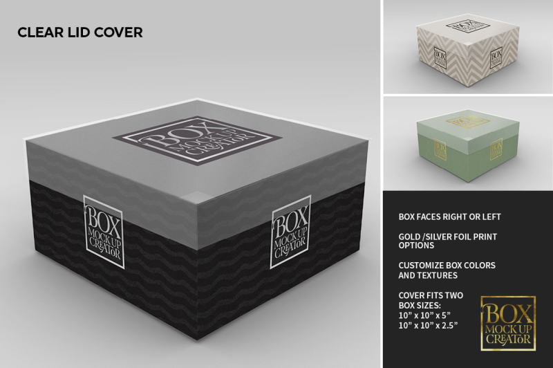 Download Kraft Square Box Mockup Front View Yellowimages