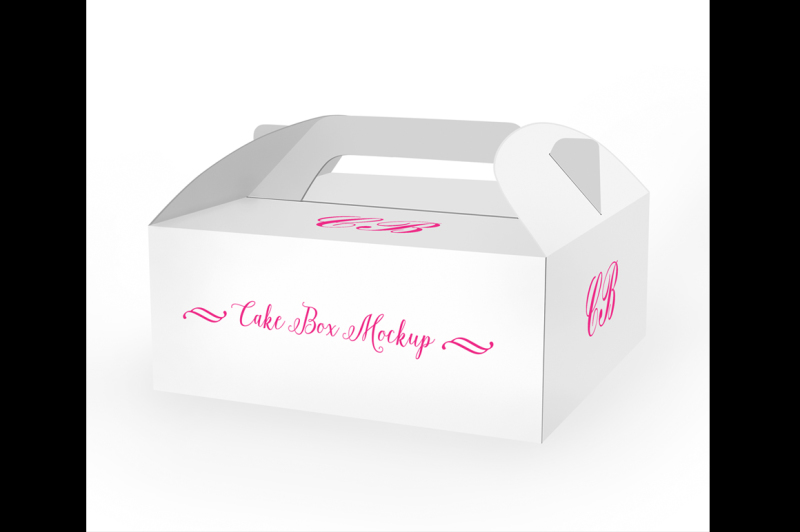 Download Cake Box Mockup By aivos | TheHungryJPEG.com