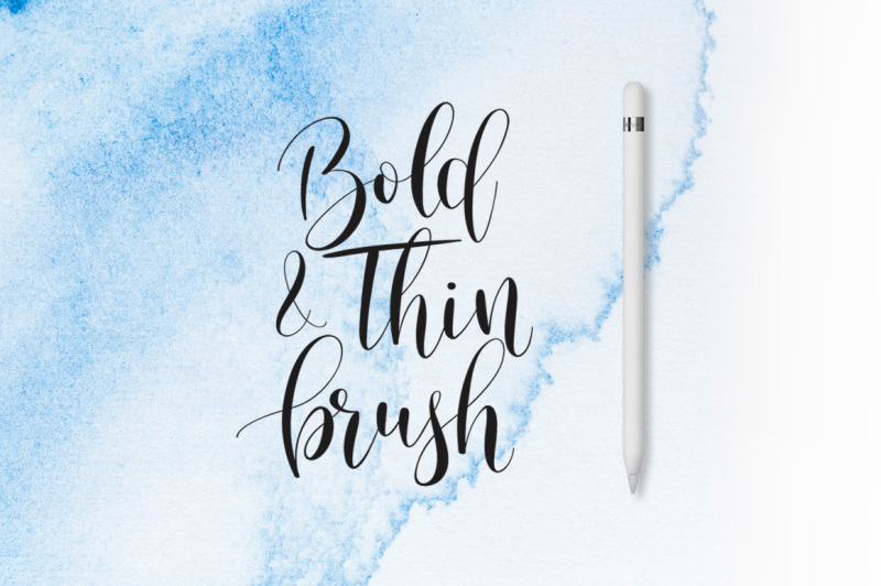 Download Lettering Brush Pack for Procreate By PeDeDesigns ...