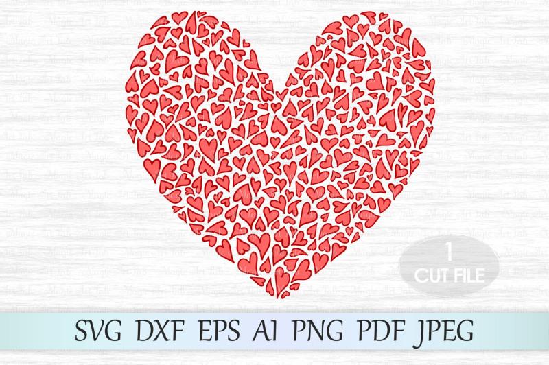 Download Heart svg file, Love svg, Valentine svg, Heart clipart By ...