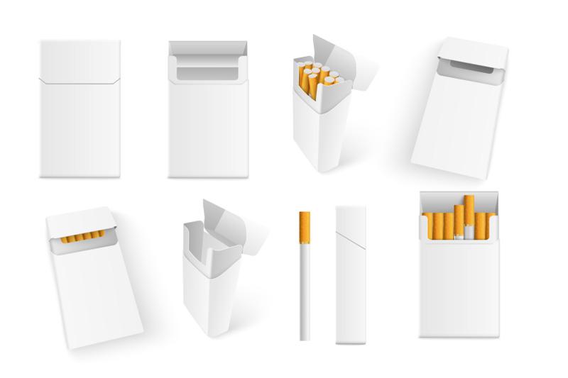 Download Realistic Cigarette Mockup By VM Sketch Market ...