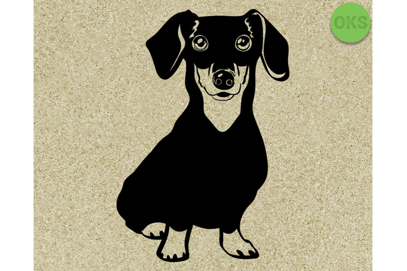 Download dachshund svg, svg files, vector, clipart, cricut ...