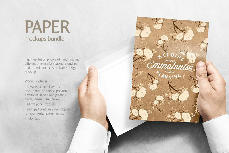 Download Pamphlet Mockup Psd Free Yellow Images