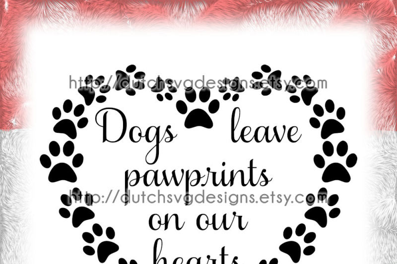 Download Text cutting file Dogs in paw heart, in Jpg Png SVG EPS ...