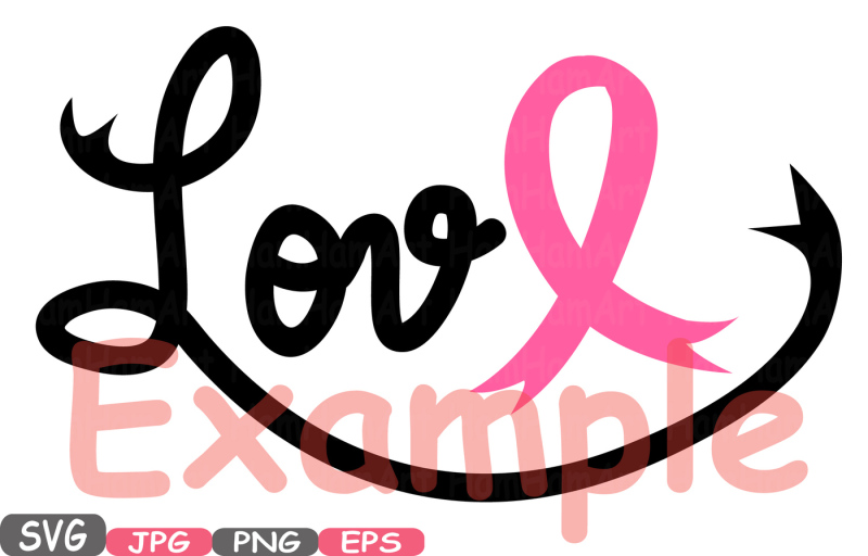 Download Faith Hope Love Cancer Ribbons SVG clipart Silhouette Word ...