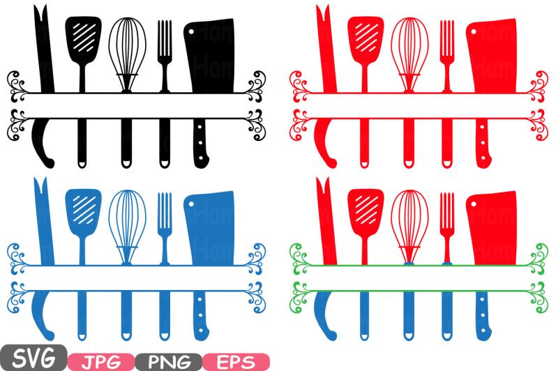 Download Split Kitchen SVG file Cutting files Cricut & Cameo ...