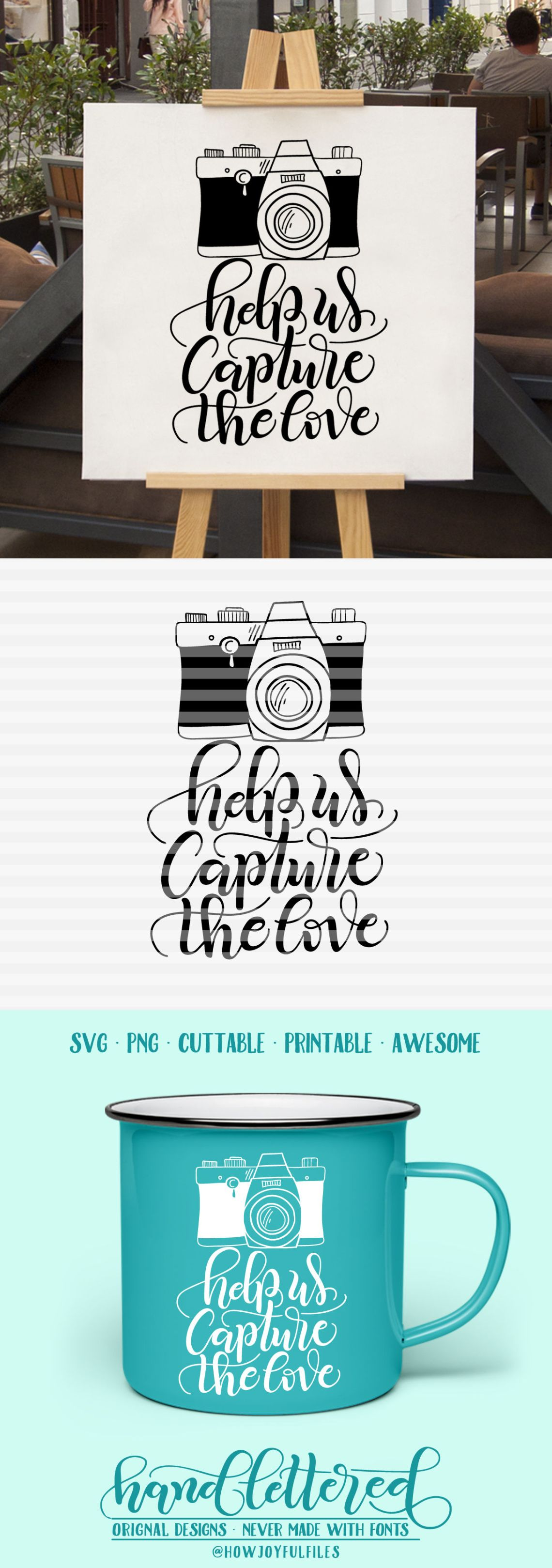Download help us capture the love - photographic camera - SVG - PDF ...