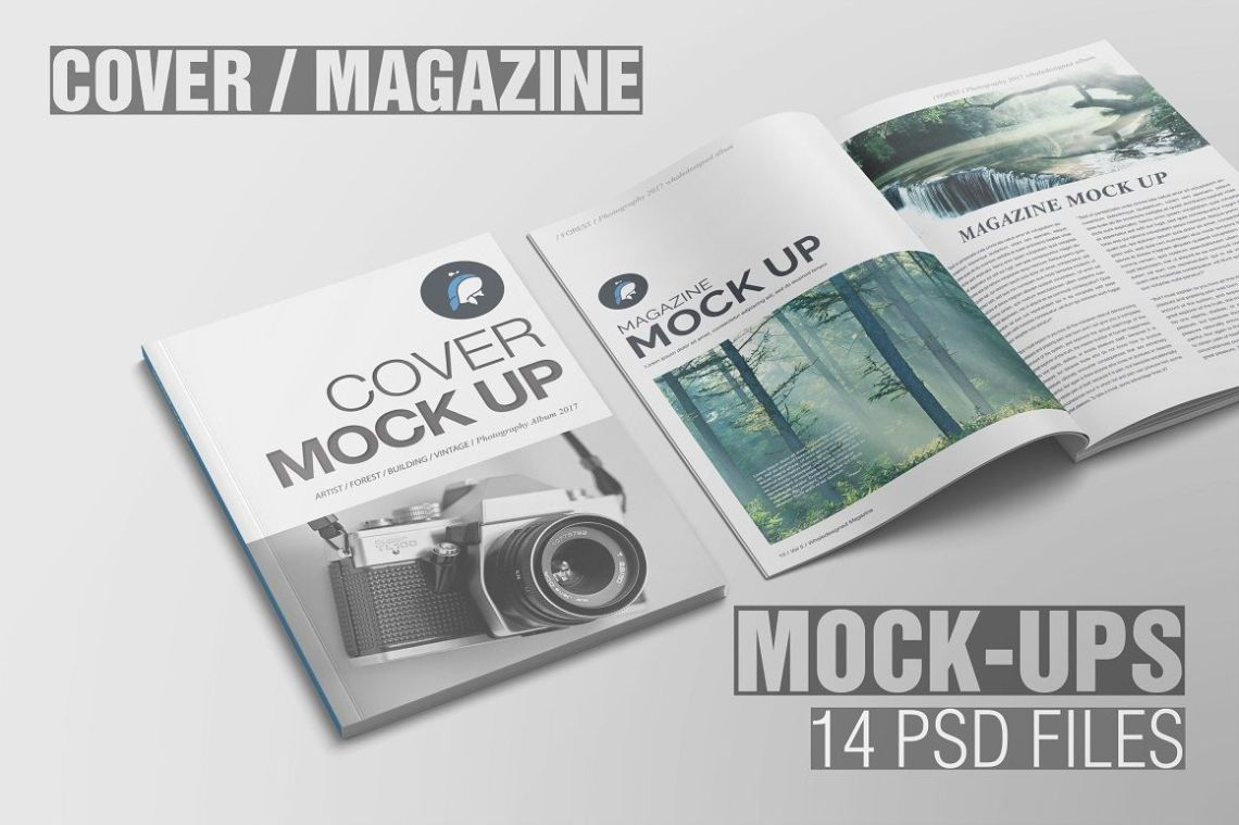 Download Magazine Free Psd Mockup Yellowimages