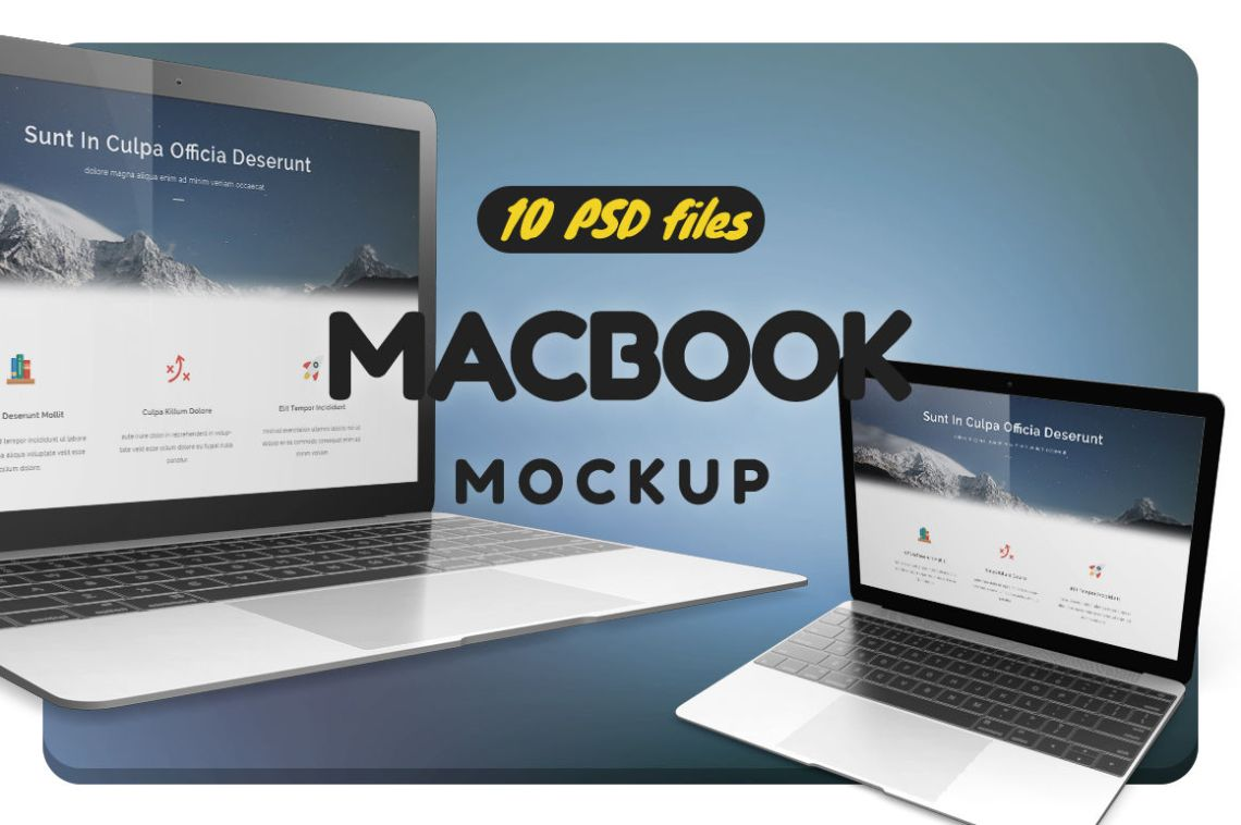 Technology Mockup Psd Free