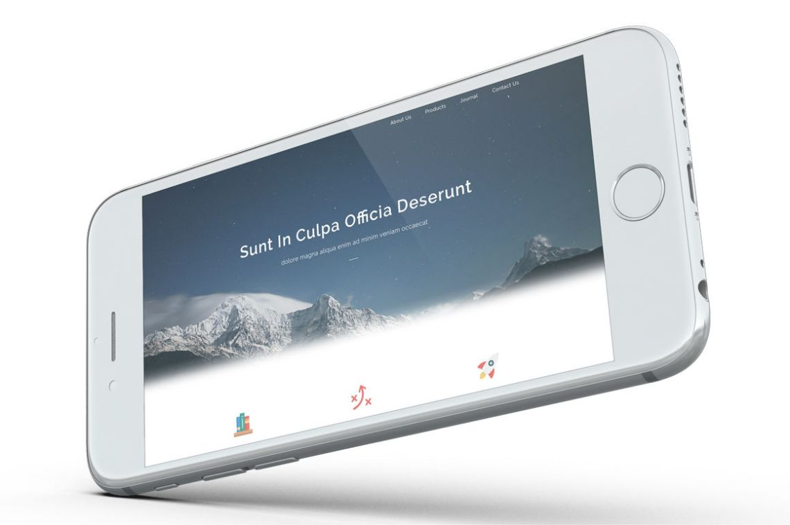 Download Iphone App Screen Mockup Psd Yellowimages