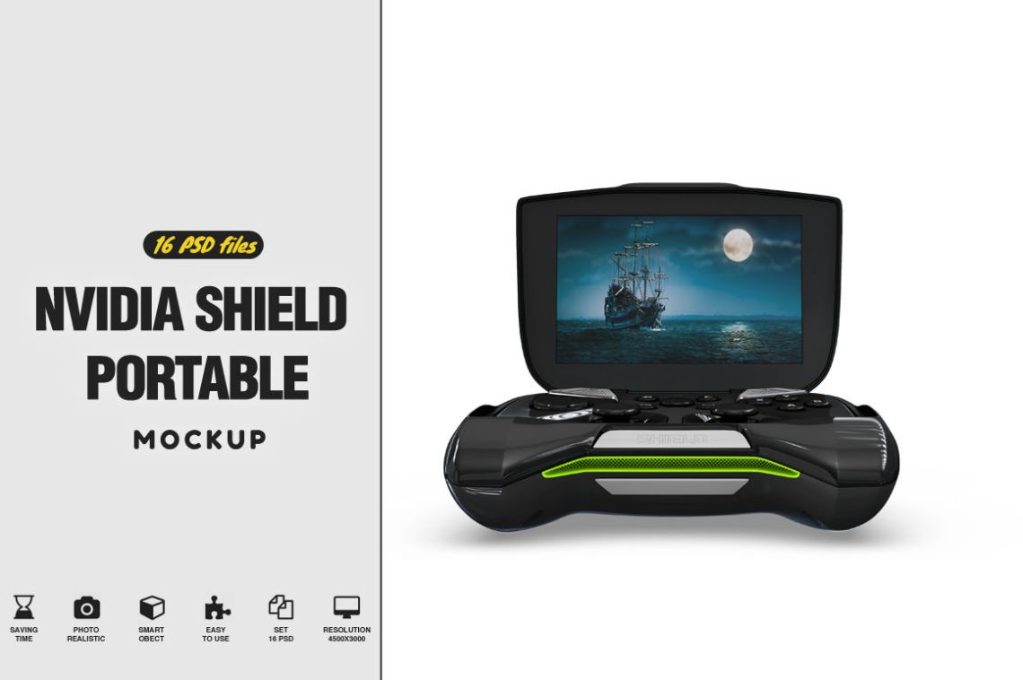 Download Dualshock 4 Controller Mockup Front View Yellowimages