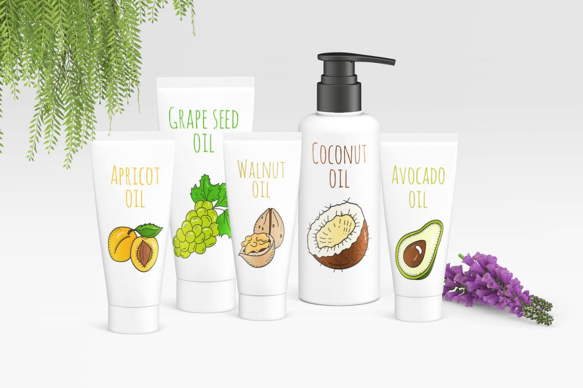 Download Body Oil Bottle Mockup Yellowimages