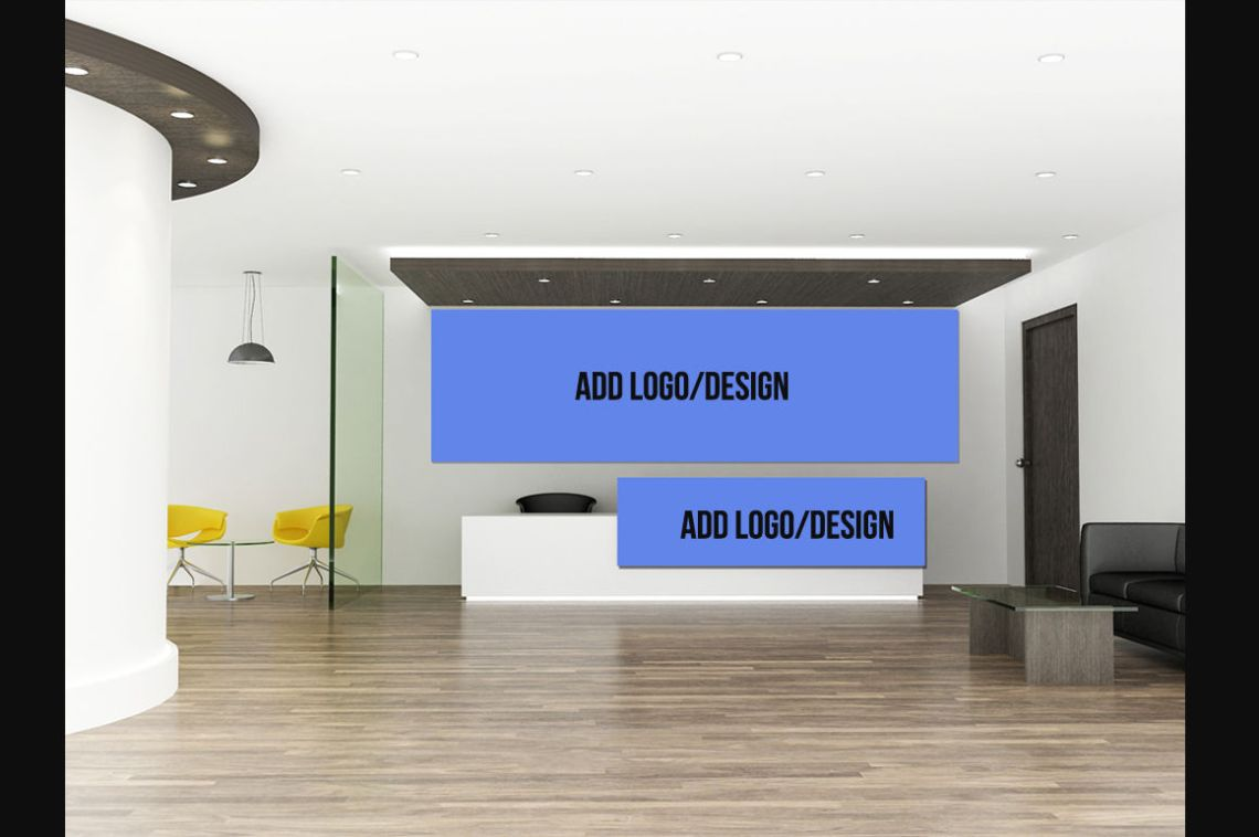Download Wall Logo Mockup Psd Free Download Yellowimages